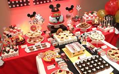 Mickey Mouse Birthday Party Ideas | Photo 1 of 16 | Catch My Party