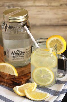 Ole Smoky Moonshine Lemonade - sweet and tart, just like we like it!