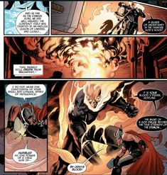 Ghost Rider increases in size while fighting Thor. Ghost Rider Johnny Blaze, Uncanny Avengers, Spirit Of Vengeance, Stunts, Marvel Universe, Thor, Marvel Comics, Supernatural, Earth