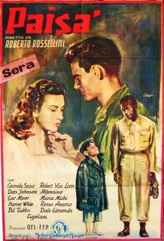 Directed by Roberto Rossellini. With Carmela Sazio, Gar Moore, William Tubbs, Robert Van Loon. The language barrier has tragic consequences in a series of unrelated stories set during the Italian Campaign of WWII. Roberto Rossellini, Camper, Satyajit Ray, Italian Campaign, Raging Bull, War Film, Episode Iv, Story Setting, Stranger Things Season