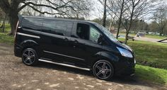 New Ford Transit custom Double Cab RS Black Edition | eBay