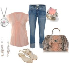 """""""soft pink"""" by butterfly285 on Polyvore"""