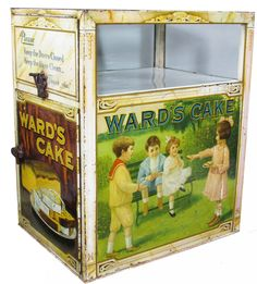 Ward's Cake Tin Litho Store Display - sold