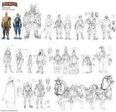 Matt Rhodes Character Models