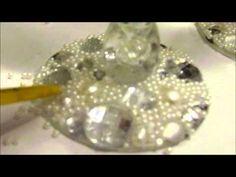 1º Faça você mesmo: Taças decoradas - YouTube
