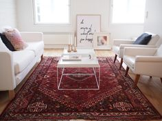 Beautiful Persian Rugs Decor Ideas To Makes Your Home Cozier 12 Red Persian Rug Living Room, Living Room Red, Living Room Carpet, Living Room Decor, Carpet Decor, Home Carpet, Red Carpet, Red Oriental Rug, Piece A Vivre