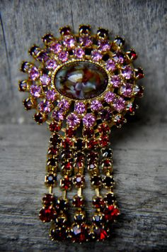 Brooch Vintage. Brooch pin 1950s. Collectible от ANTIQUESxVINTAGE