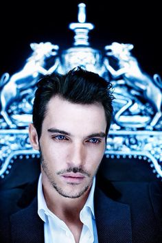 Jonathan Rhys Meyers. FFS those eyes...it's almost hard to look at him, he's so intense.