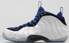 97c0cc51d1bcf Buy Nike Air Foamposite One Shooting Stars White Black-Royal Blue For Sale  from Reliable Nike Air Foamposite One Shooting Stars White Black-Royal Blue  For ...