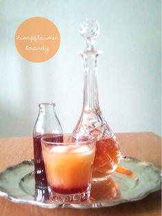 Zimt-Pflaumen-Brandy
