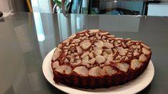 Torta cacao, cocco e pere