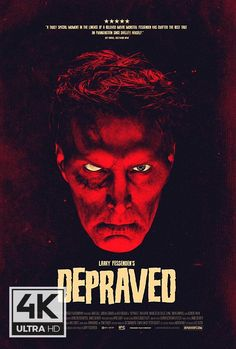 First Poster for Horror-Thriller 'Depraved' - A disillusioned field surgeon suffering from PTSD makes a man out of body parts and brings him to life in a Brooklyn loft. Buy Movies, Movies To Watch Free, Good Movies, Movies Online, Scary Movies, Terror Movies, 2020 Movies, Imdb Movies, Jeepers Creepers 3
