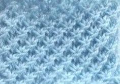le très beau point d'étoile au tricot - La Grenouille Tricote