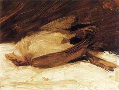 The Dead Sparrow - Franz Marc