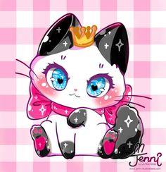 cut cat in sushi drawing by m Jenni - Yahoo Search Results Yahoo Image Search Results Cute Animal Drawings Kawaii, Cute Kawaii Animals, Cute Cat Drawing, Kawaii Cat, Kawaii Chibi, Cute Drawings, Kawaii Anime, Sushi Drawing, Kawaii Doodles