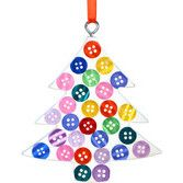 Buttoned Up Tree Ornament