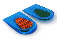 SPENCO® GEL HEEL CUSHIONS offer a slip-resistant design, deep heel cupping and honeycomb impact protection for ultimate heel comfort.