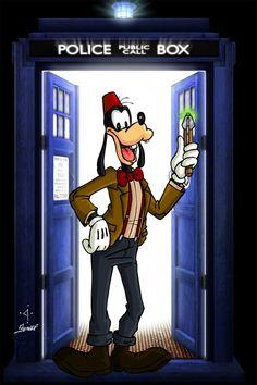 Confira a galeria de personagens da Disney como cada um dos 13 Doutores!