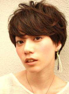 ビターショコラ 【Sketch】 http://beautynavi.woman.excite.co.jp/salon/26408?pint ≪ #shorthair #shortstyle #shorthairstyle #hairstyle・ショート・ヘアスタイル・髪形・髪型≫