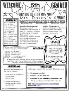 Open House Parent Classroom Information / Meet The Teacher * Editable I found that when the countdown begins to the first day of school I simply do not have time to create a beautiful flipbook or foldable for my student's parents at th Teacher Introduction Letter, Letter To Teacher, First Year Teachers, Parents As Teachers, Beginning Of The School Year, First Day Of School, Carta Para O Professor, Meet The Teacher Template, Curriculum Night