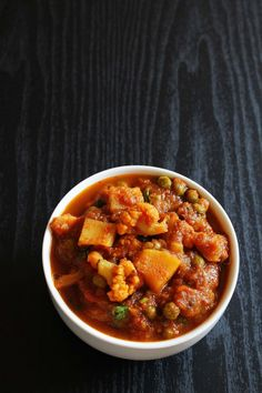 Aloo Gobi Matar Curry