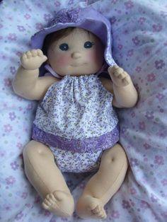 KIT and PDF Pattern - Cloth Doll. $45.00, via Etsy.