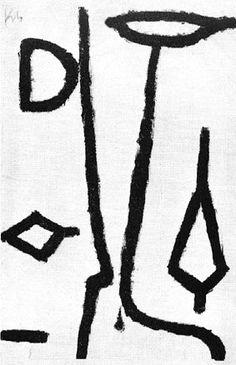 Klee, Verletzt, 1940
