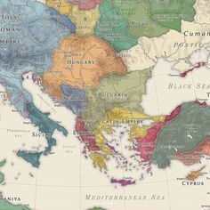 A History Of God, Dna History, European History, Hungary History, Fantasy Map, Old Maps, Flags Of The World, Fantasy Inspiration, Historical Maps