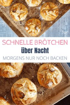 Schnelle Brötchen über Nacht If you would like to eat freshly baked bread rolls for breakfast quickly and easily at the weekend, then you will love this recipe with dry yeast! Best Chia Seed Pudding, Quick Rolls, Healthy Dark Chocolate, Flax Seed Recipes, Pizza, Christmas Breakfast, Fresh Bread, Pudding Recipes, Dry Yeast