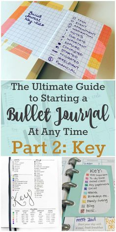 By creating the perfect Bullet Journal Key, you streamline your to-do lists, appointments, and events. Find tons of bullet journal key examples.