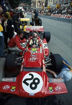 1970 Monaco STP March 701 Chris Amon