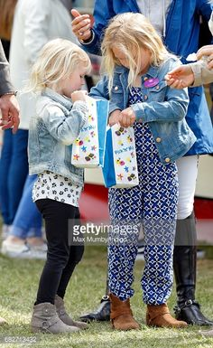 Isla Et Savannah Philipps 13 Mai 2017 Royal Windsor Horse Show