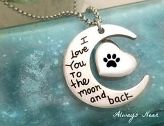 Pet cremation urn cat dog ashes jewelry pendant by Alwaysnear