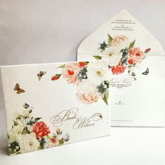 Floral invitation card For info & order 0812 2312 5451