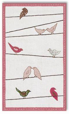 Different Birdie Rug