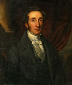 1842 -Portrait of a Gentleman by John Ponsford (1790 – 1870)
