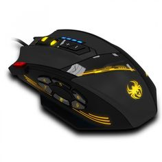 There is always many products on sae upto - ZELOTES Wired Mouse USB Optical Gaming Mouse 12 Programmable Buttons Computer Game Mice 4 Adjustable DPI 7 LED Lights - Pro Buyerz Gaming Computer, Computer Mouse, Gaming Setup, Pulse Light, Pc Mouse, Foot Pads, Mac Os, Computer Accessories, Usb