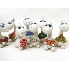 needle felted dragon  a symbol of the New Year 2012 by vilnone, $18.00