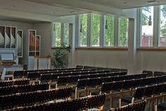 alajärvi - parish center 3 | Flickr - Photo Sharing! Alvar Aalto, Building, Furniture, Home Decor, Decoration Home, Room Decor, Buildings, Home Furnishings, Arredamento