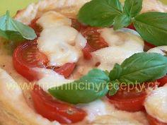 Česnekovo-rajčatové koláče