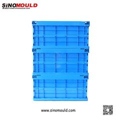 C1-serie Foldable Crate, size 600*400*280mm. Welcome to follow and contact us! Email: sino-mould@hotmail.com. Whatsapp: +86 158-5868-5625.