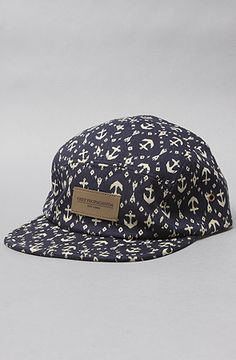 Obey The Native 5Panel Hat in Navy : Karmaloop.com - Global Concrete Culture