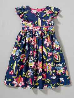 Buy John Lewis Girl Signature Print Dress, Multi online at JohnLewis.com - John Lewis