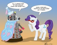 DOCTOR WHO AND MLP!!!!!!