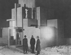 """L'inhumaine"", Marcel L'Herbier, 1924. Décor : Robert Mallet Stevens"