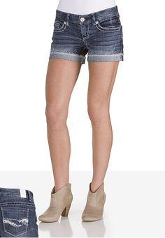 Kaylee Cutoff Jean Shorts