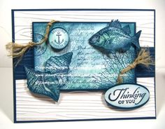 Card #3- Nautical Thinking of You by Julie Gearinger - Cards and Paper Crafts at Splitcoaststampers
