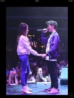Annie LeBlanc and Hayden Summerall @ RYH Back To School concert