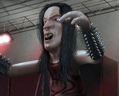 Finalista Meu Personagem 3D  Personagem: Metaleiro  Autor: Luciano Vitório