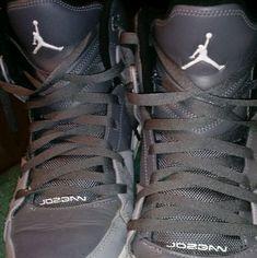 2afba26a6 Shop Men s Jordan Gray size Sneakers at a discounted price at Poshmark.  Description  Gray Air JORDAN Nike Hi Top Flight 2012 Men s.
